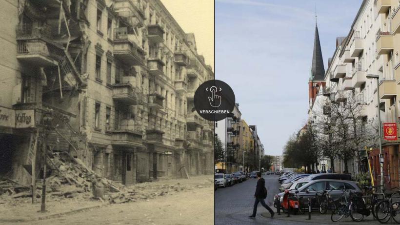 Berlin früher und heute - Berliner Morgenpost
