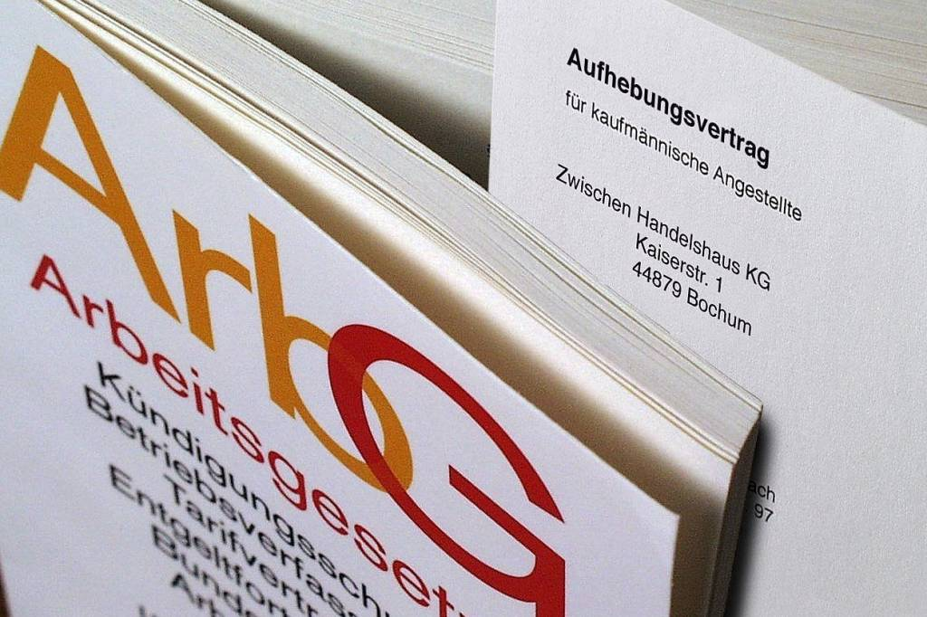 Aufhebungsvertrag Oder Kündigung Jobs Berliner Morgenpost