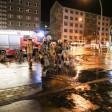 Wegen sprudelnden Wassers von unten wurde die Polizei zum U-Bahnhof Magdalenenstraße alarmiert