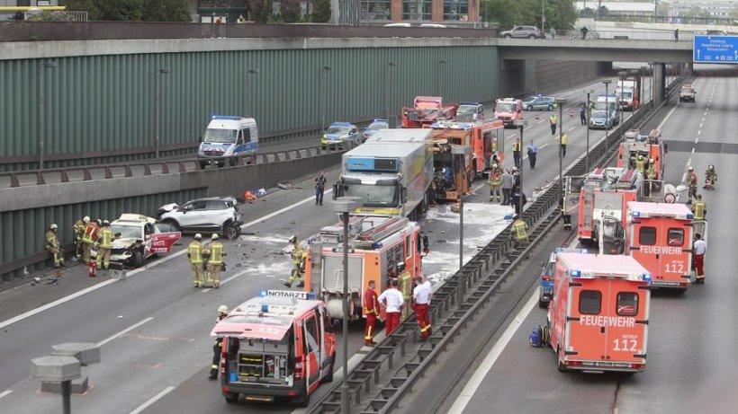 Verkehrslage Berlin A100