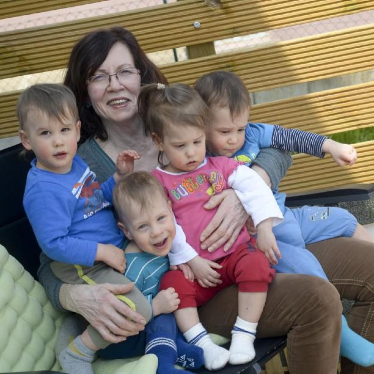 Fruhchen Der Berliner Vierlingsmutter Werden Zwei Jahre Alt Berliner Morgenpost
