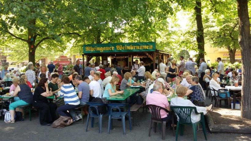 Gerichtsstreit um Weinfest am Rüdesheimer Platz geht