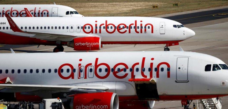 Die Flugzeuge von Air Berlin sollen trotz der Insolvenz vorerst weiter abheben