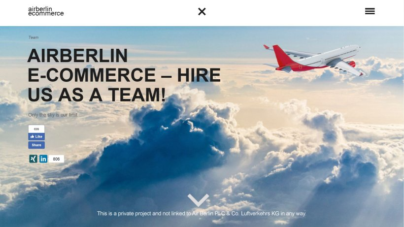 kreative job suche von air berlin team offenbar erfolgreich berlin aktuelle nachrichten. Black Bedroom Furniture Sets. Home Design Ideas