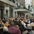 Auf Berlins Straßen wird es eng, wie hier am Tauentzien