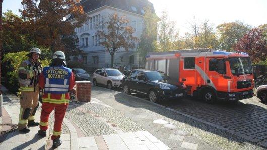 Die Feuerwehr ist in Wilmersdorf im Einsatz