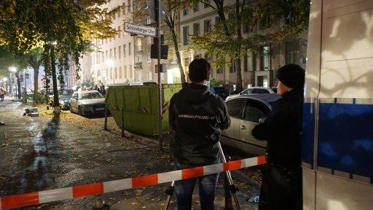 Polizeieinsatz an der Genthiner Straße