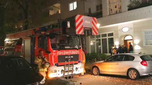 Eine Frau ist bei einem Küchenbrand in Halensee gestorben
