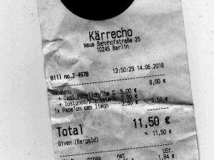 Unter 20 Euro im Kärrecho