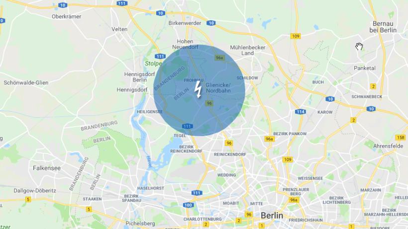 stromausfall legt weite teile reinickendorfs lahm berlin aktuelle nachrichten berliner. Black Bedroom Furniture Sets. Home Design Ideas
