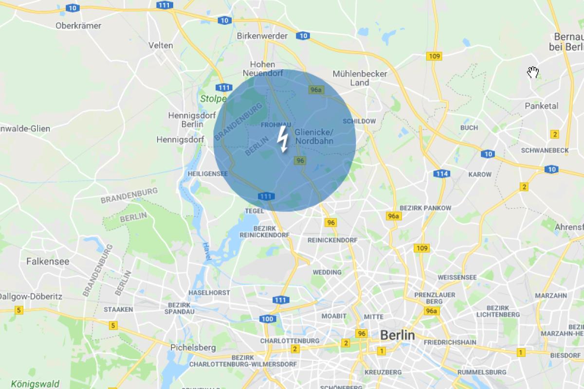 stromausfall karte Stromausfall in Berlin: 20.000 Haushalte betroffen   Berlin