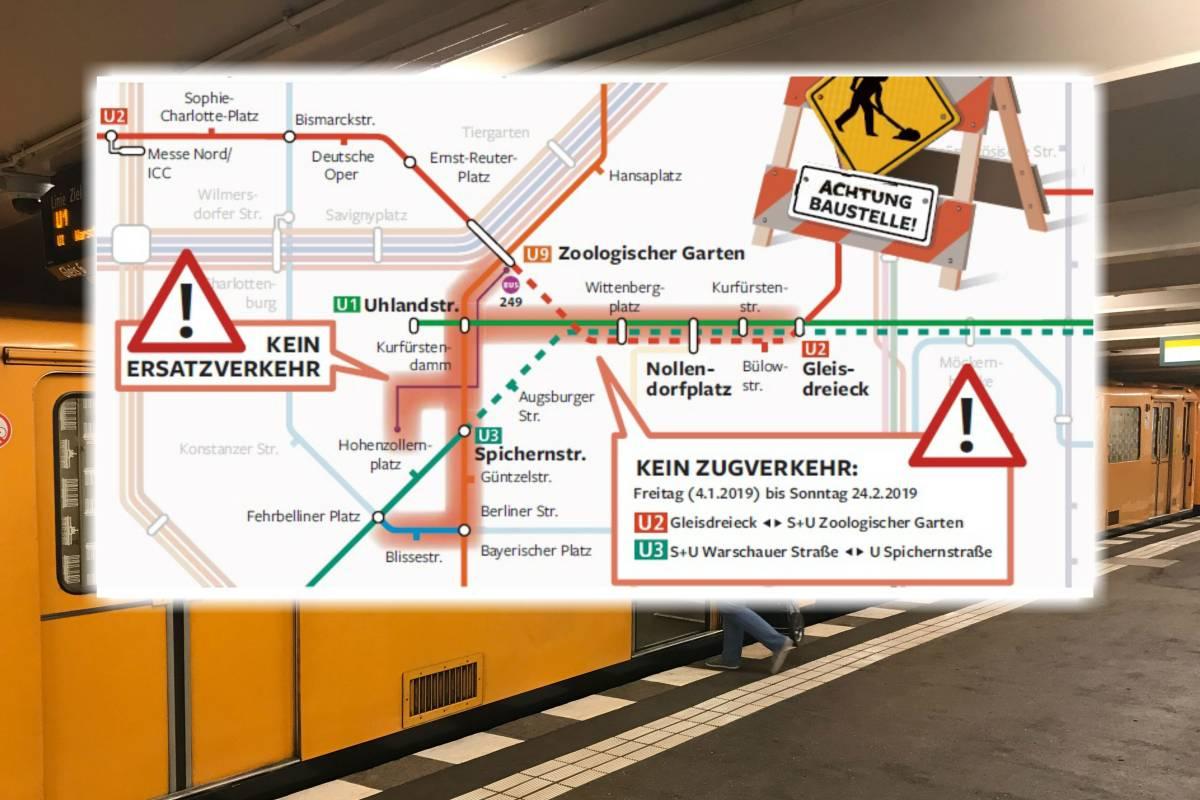 Chaos Gleich Drei U Bahn Linien Fallen Ab Januar Aus Bvg Bietet