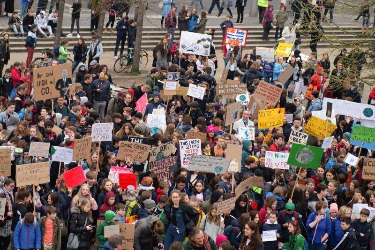 Berliner Schüler demonstrieren auch in den Osterferien