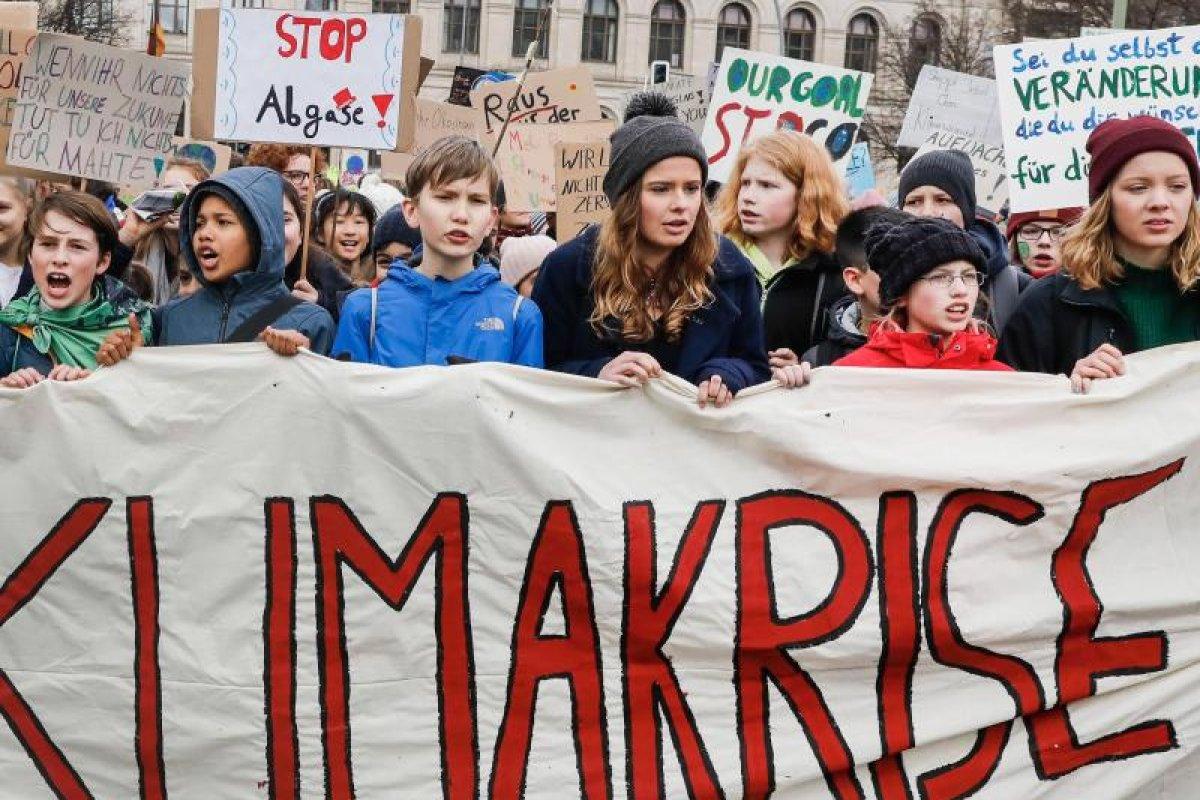 Schüler in Berlin und Brandenburg demonstrieren fürs Klima