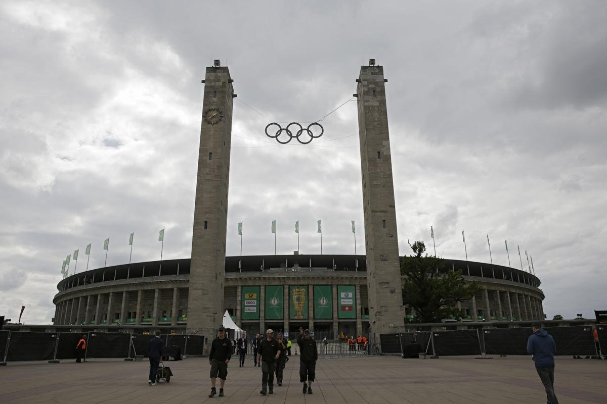 DFB Pokal 2019: Tore geöffnet - Fan-Ansturm im Olympiastadion