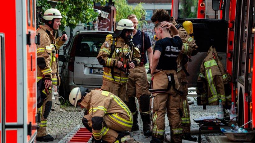 """""""Club der Visionäre"""" ausgebrannt - Berliner Feuerwehr kritisiert Brandschutz"""