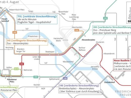 Flughafen Tegel Warum Der Txl Bus Nur Noch Bis Hauptbahnhof Fahrt Bvg Fuhrt Neue Buslinie Ein Berliner Morgenpost