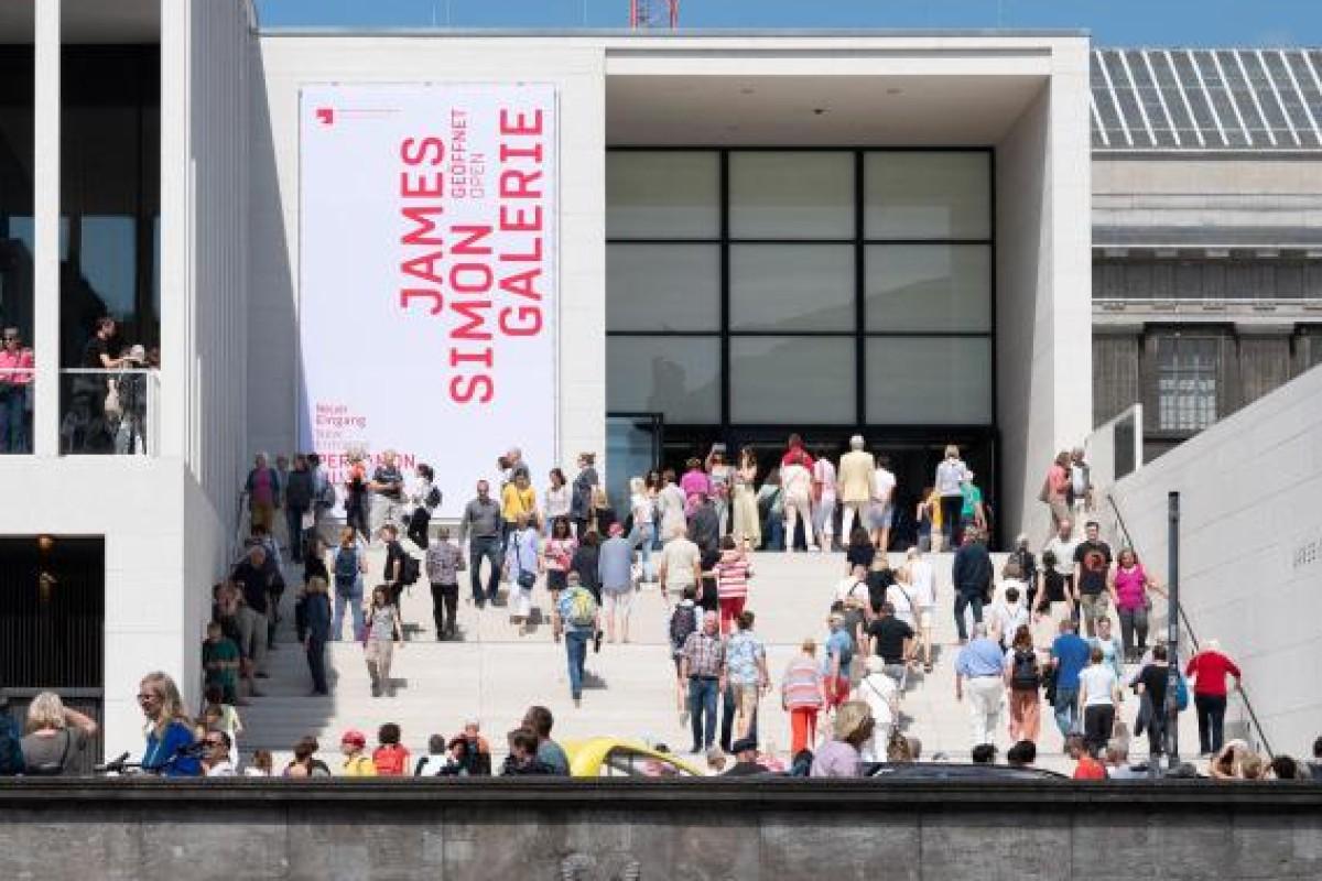 Museumsinsel Komplett Viel Andrang An James Simon Galerie Berliner Morgenpost