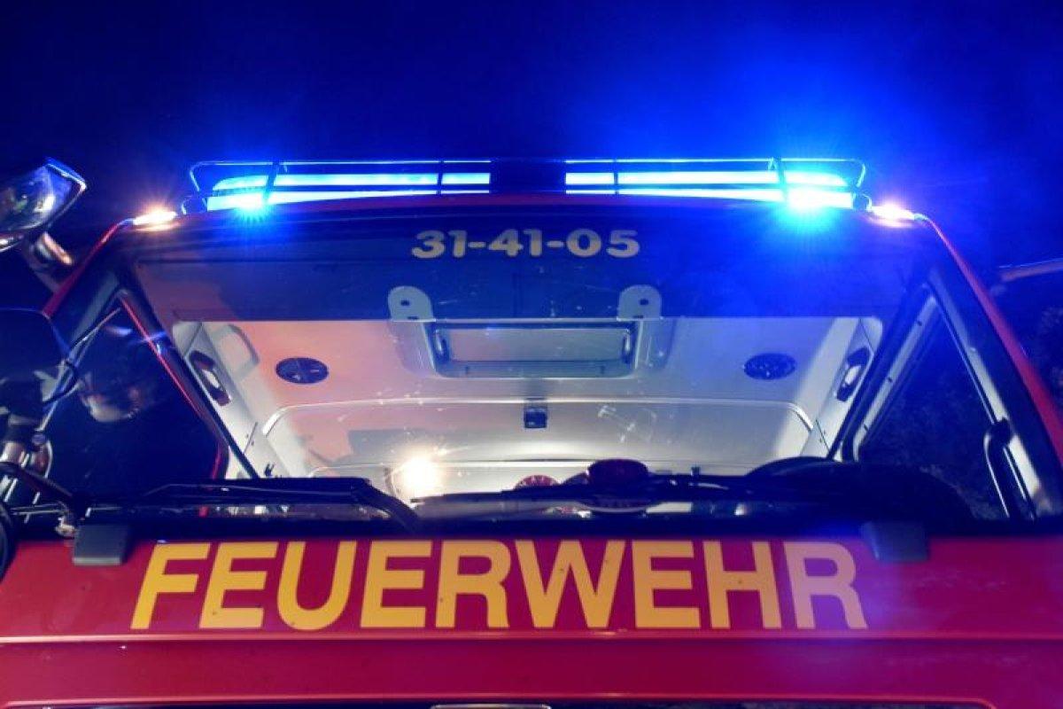 Ein Verletzter bei Brand in Lichterfelde