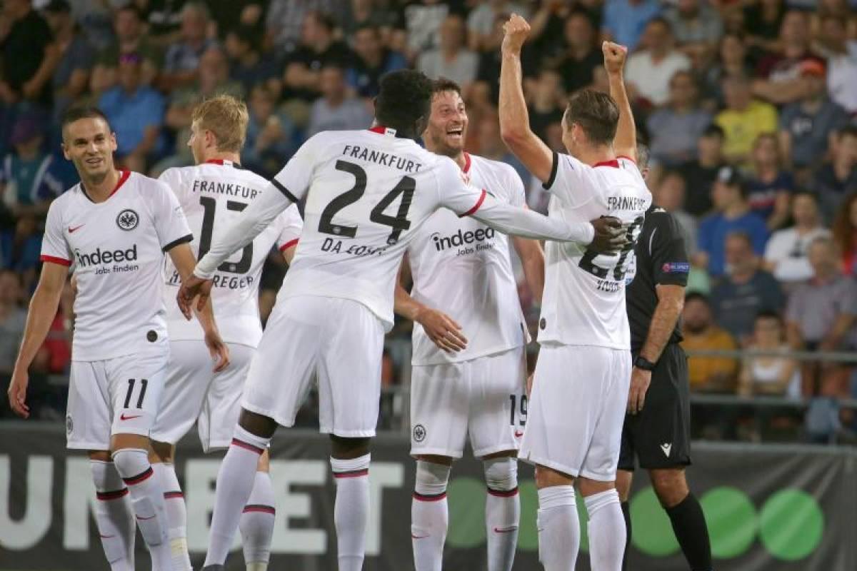 Bundesliga Eintracht Frankfurt Gegen Fortuna Dusseldorf