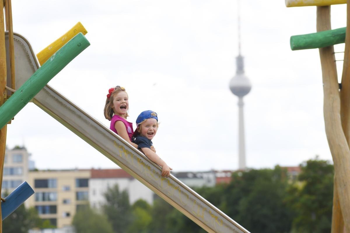 Spielplätze in Berlin - Kein Kinderspiel: Berlin hat zu wenig Platz für Kinder
