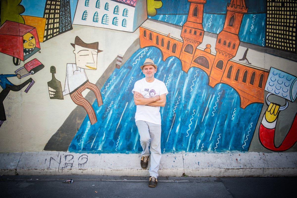 Jim Avignon will sich erneuernde East Side Gallery