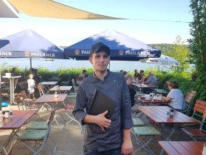 Michael Wegener, einer der Chefs im Restaurant Salt'n'Sugar in Kladow an der Havel.