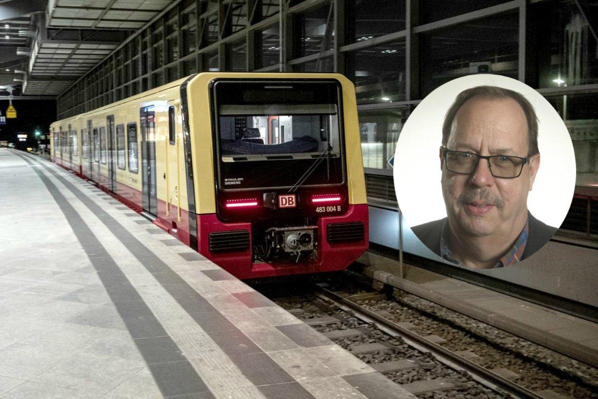 Mit der S-Bahn einfach am Stau vorbeifahren