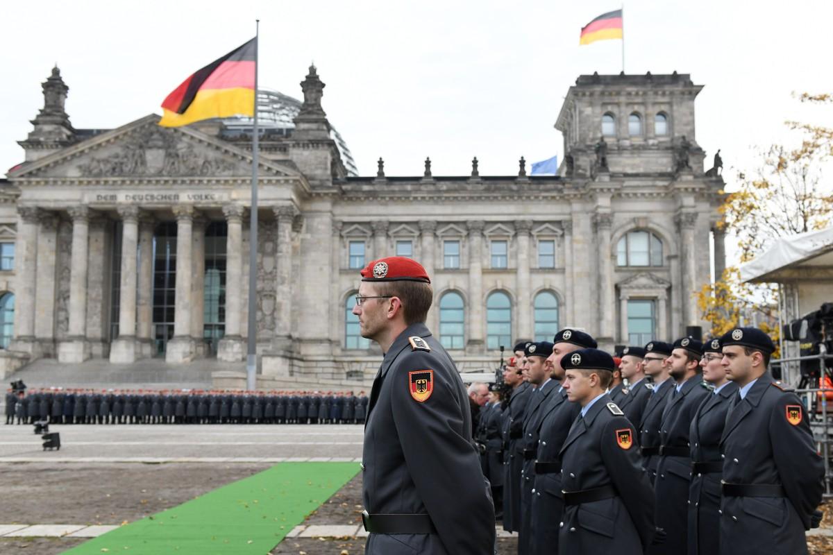 Feierliches gelöbnis berlin 2020