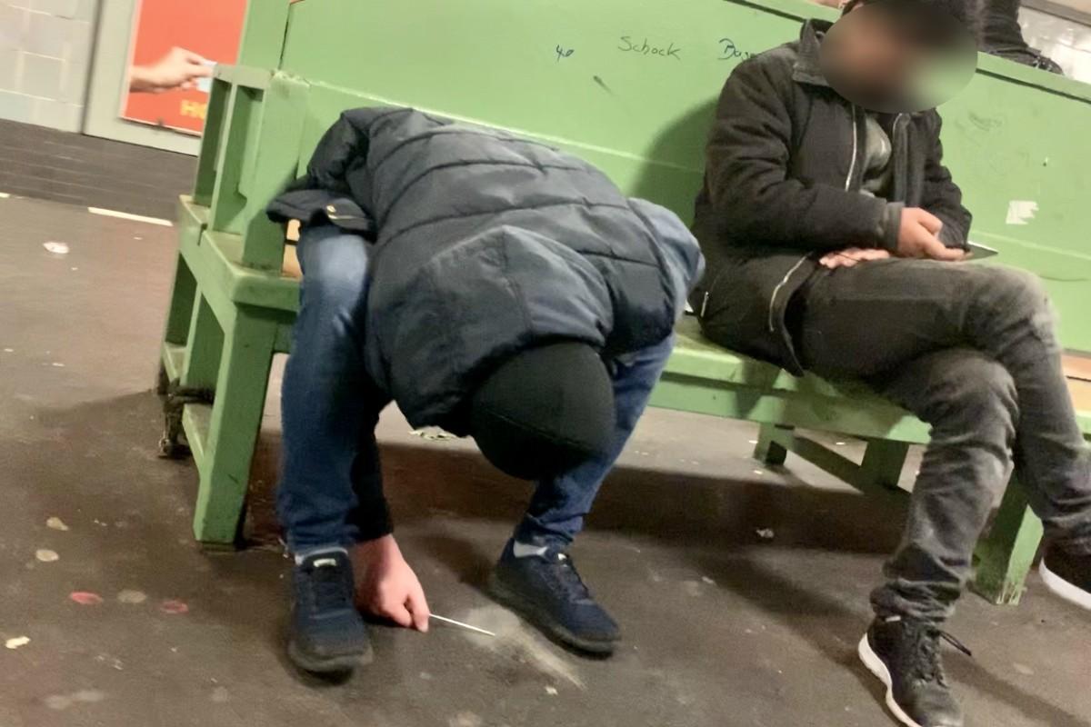 Dealer in U-Bahnhöfen: U7, U8 und U9 - Berlins Bermudadreieck der Drogen