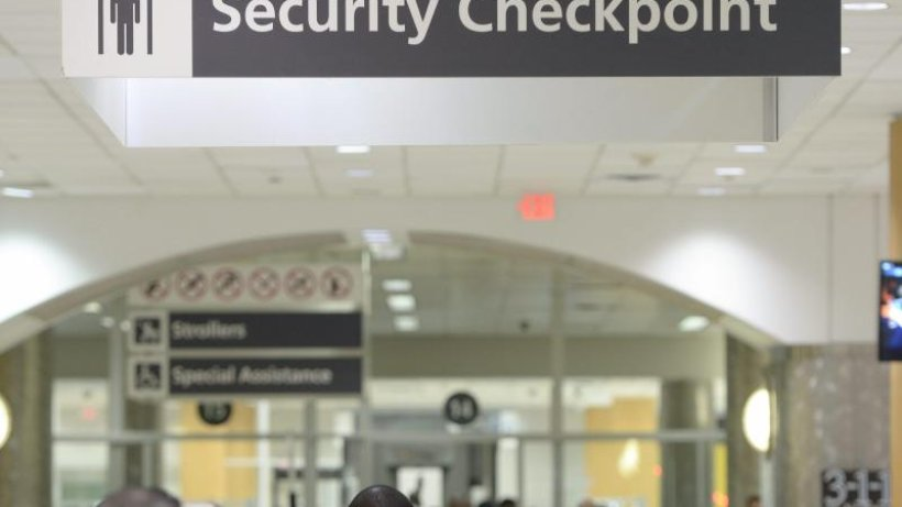 Airport Atlanta Abflug