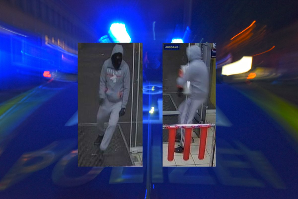Polizei Berlin erbittet Hinweise: Wer kennt diesen maskierten Mann?