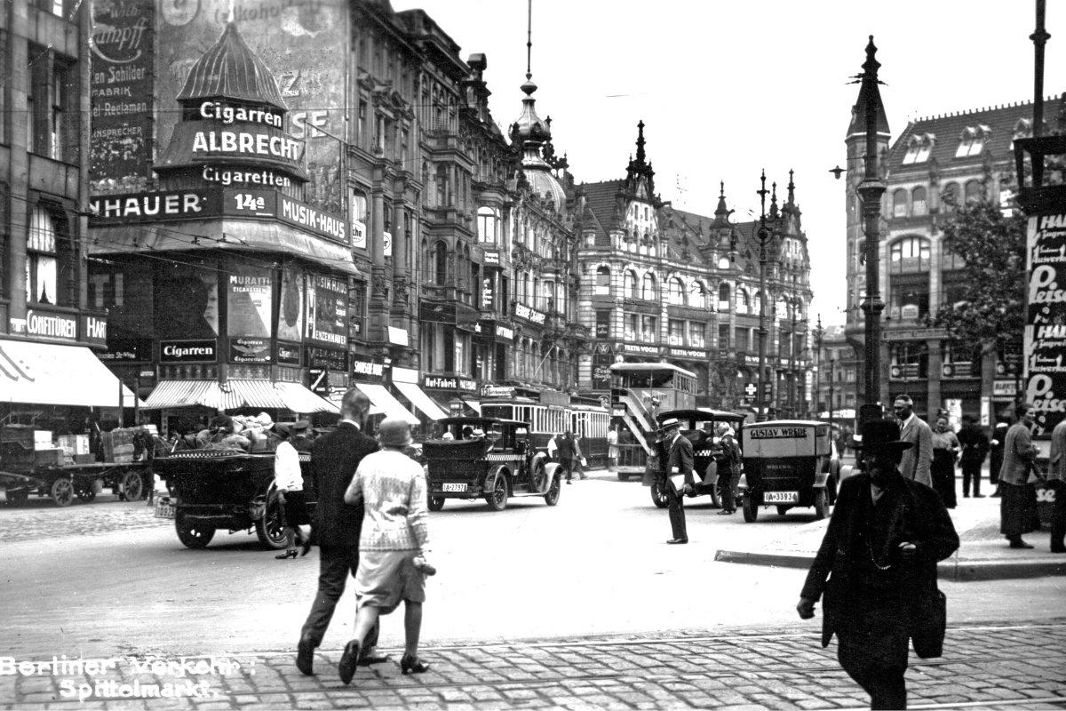 So sah Berlins historische Mitte früher aus