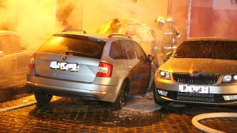 Die Feuerspur der Linksextremisten in Berlin