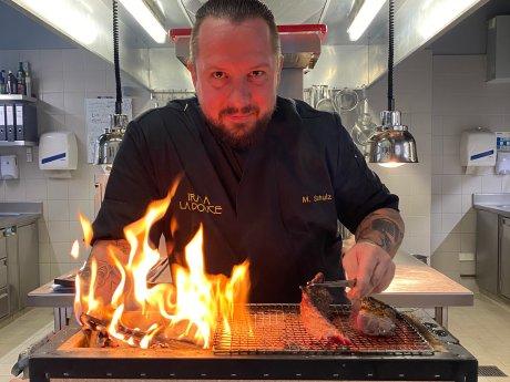 Michael Schulz ist Küchenchef im Irma la Douce