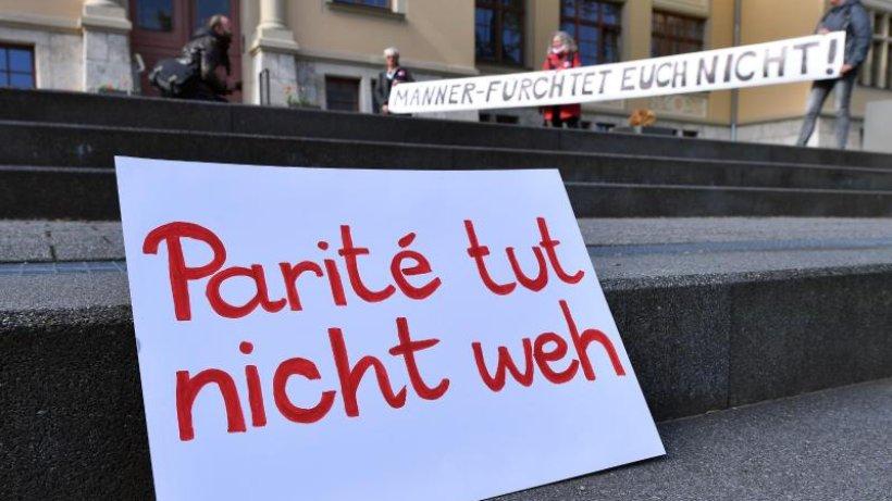 Paritätsgesetz in Thüringen verfassungswidrig - Höcke feiert