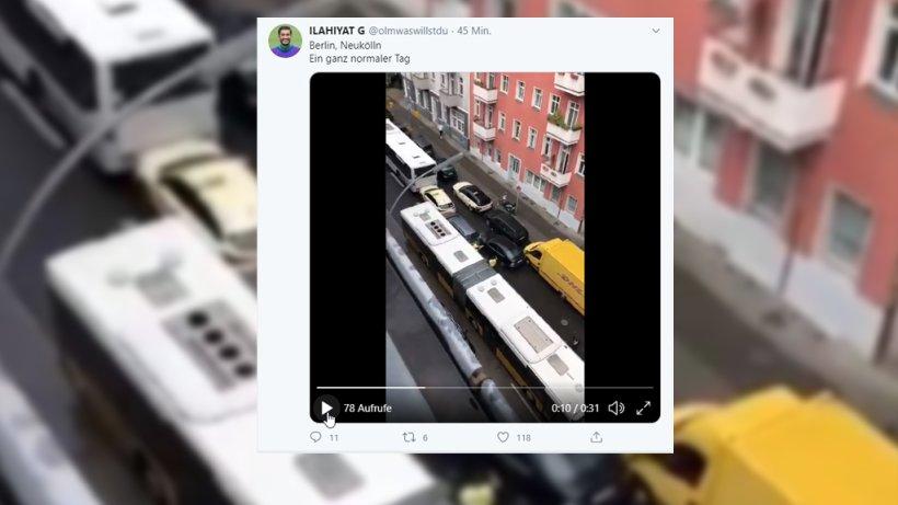 Neukölln: Videos zeigen Unfall und Verfolgungsjagd