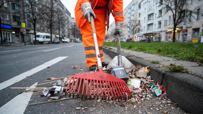 Streik bei der BSR: Straßen werden am Montag in Berlin nicht gereinigt