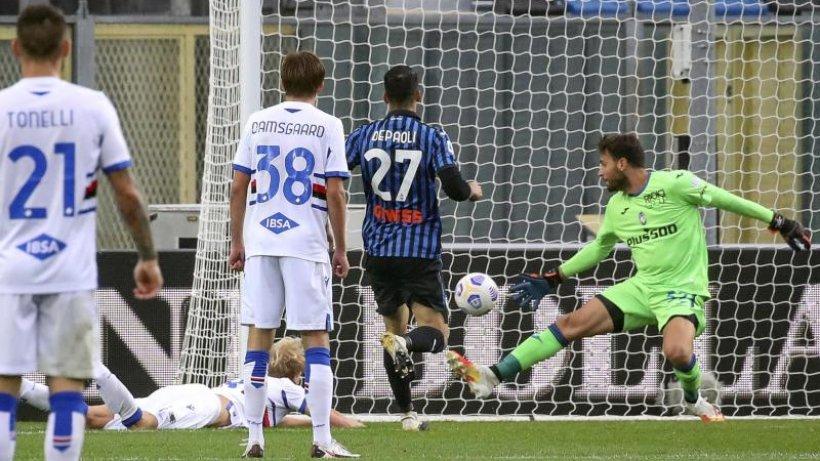 Atalanta Bergamo verliert 1:3 gegen Sampdoria Genua
