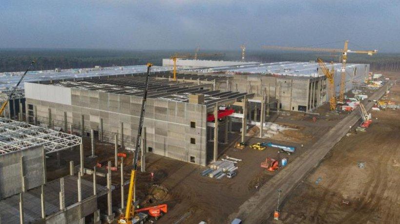 Tesla in Grünheide: Neuer Bebauungsplan steht