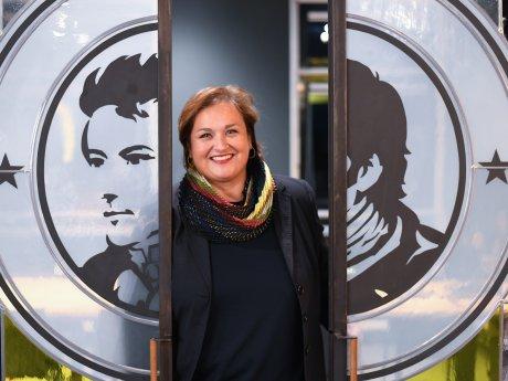 Sigrid Bachert ist seit 2017 die Geschäftsführerin des Berliner Unternehmens Thomas Henry.
