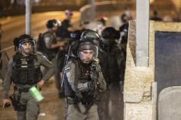 Konflikt in Jerusalem: Erneut schwere Zusammenstöße am Tempelberg