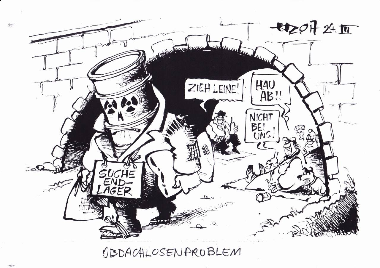Obdachlosenproblem