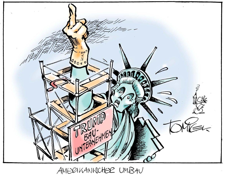 Amerikanischer Umbau