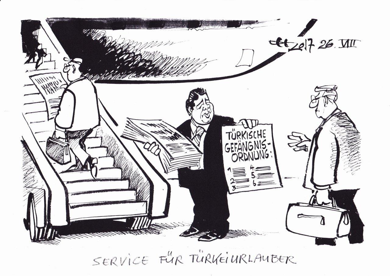 Service für Türkei-Urlauber