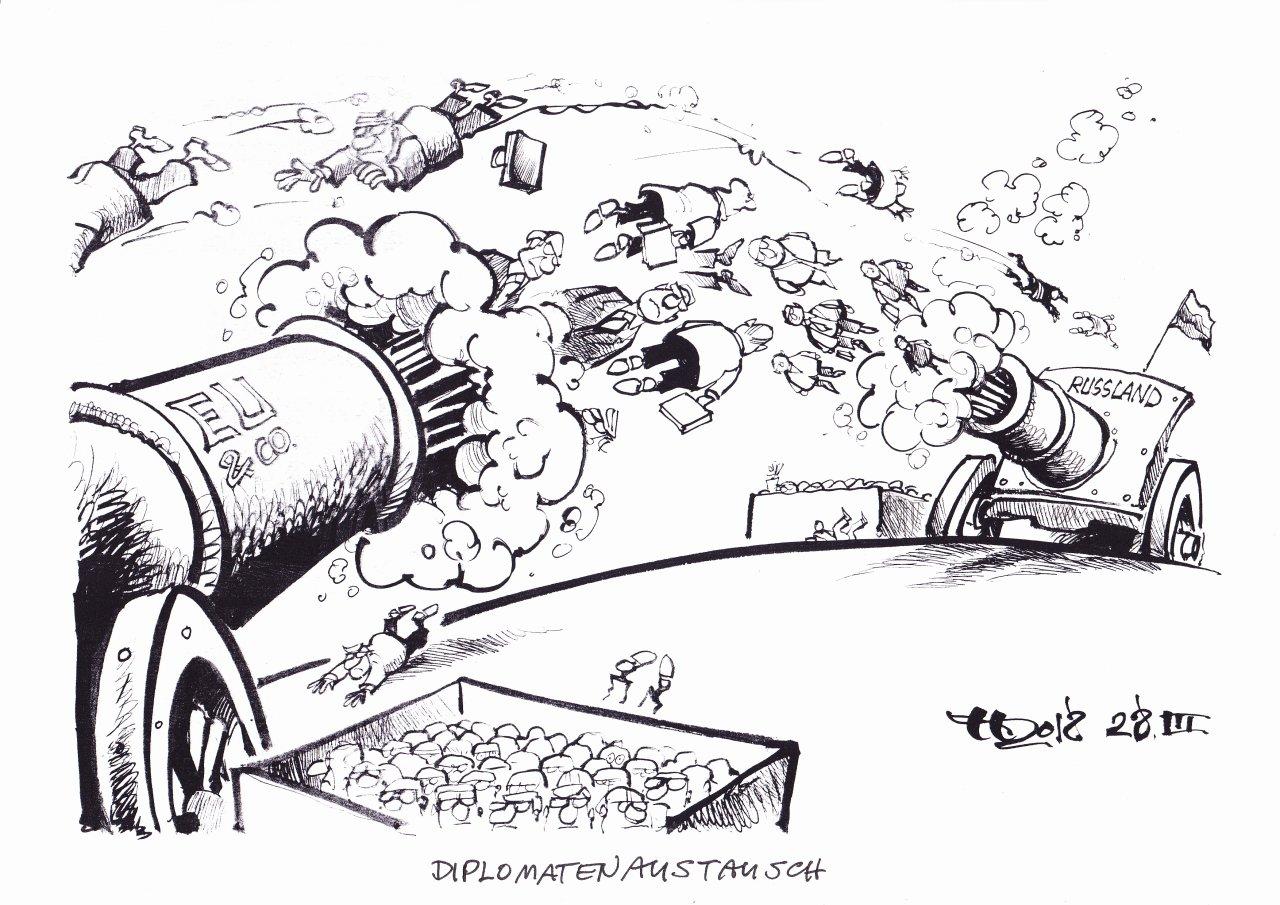 Diplomatenaustausch