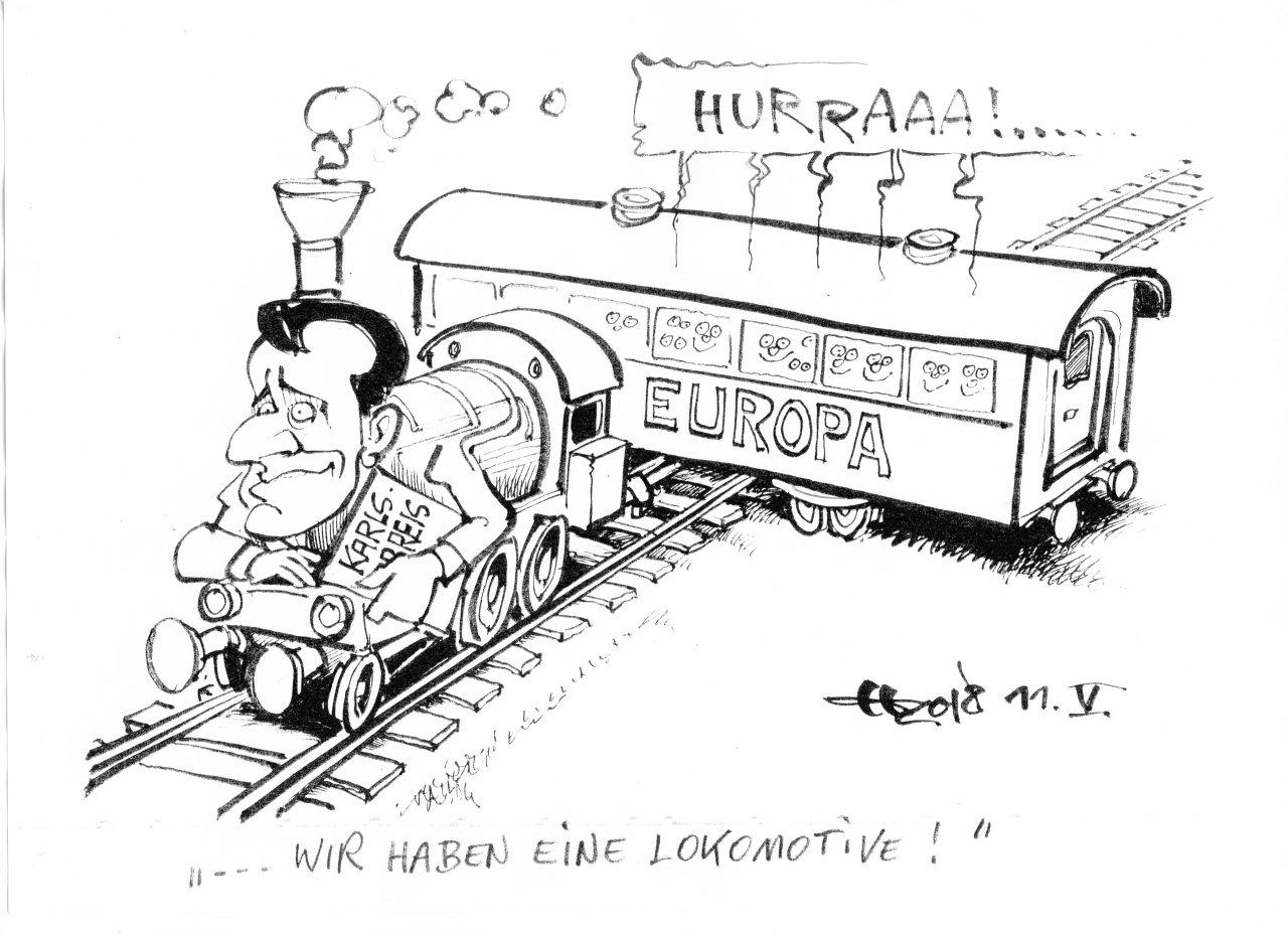"""""""... wir haben eine Lokomotive!"""""""