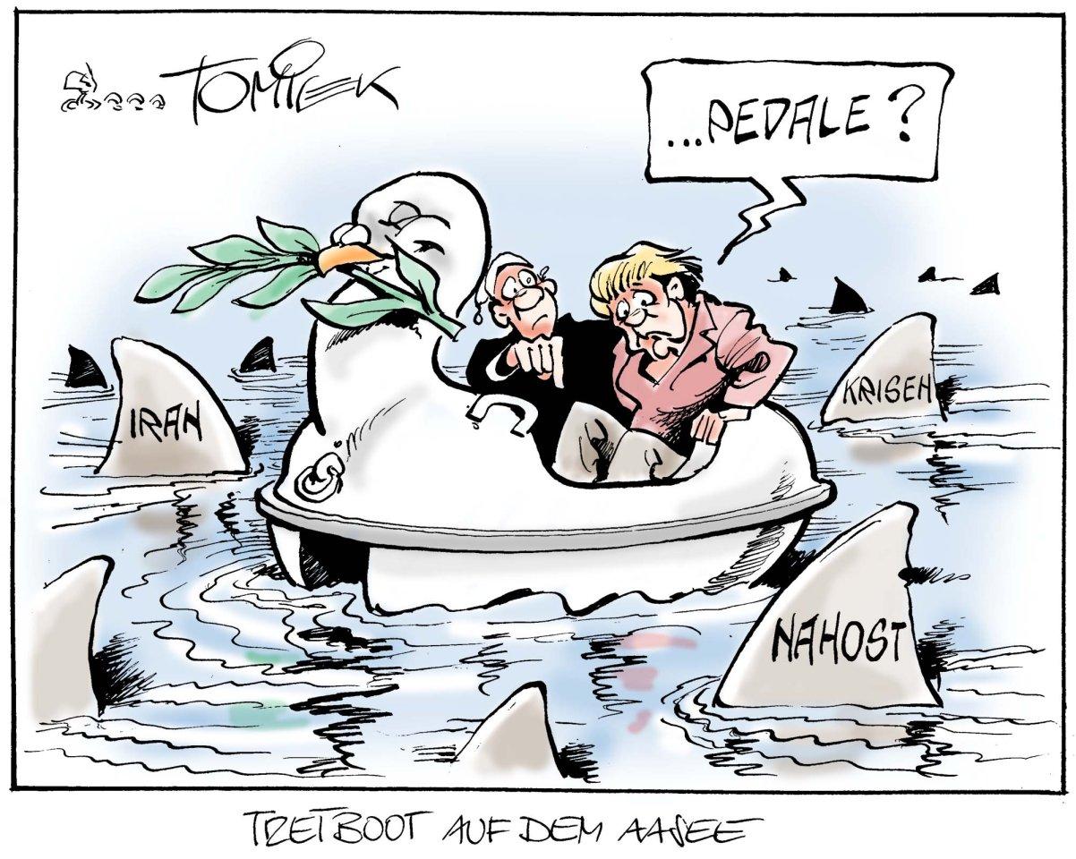 Tretboot auf dem Aasee