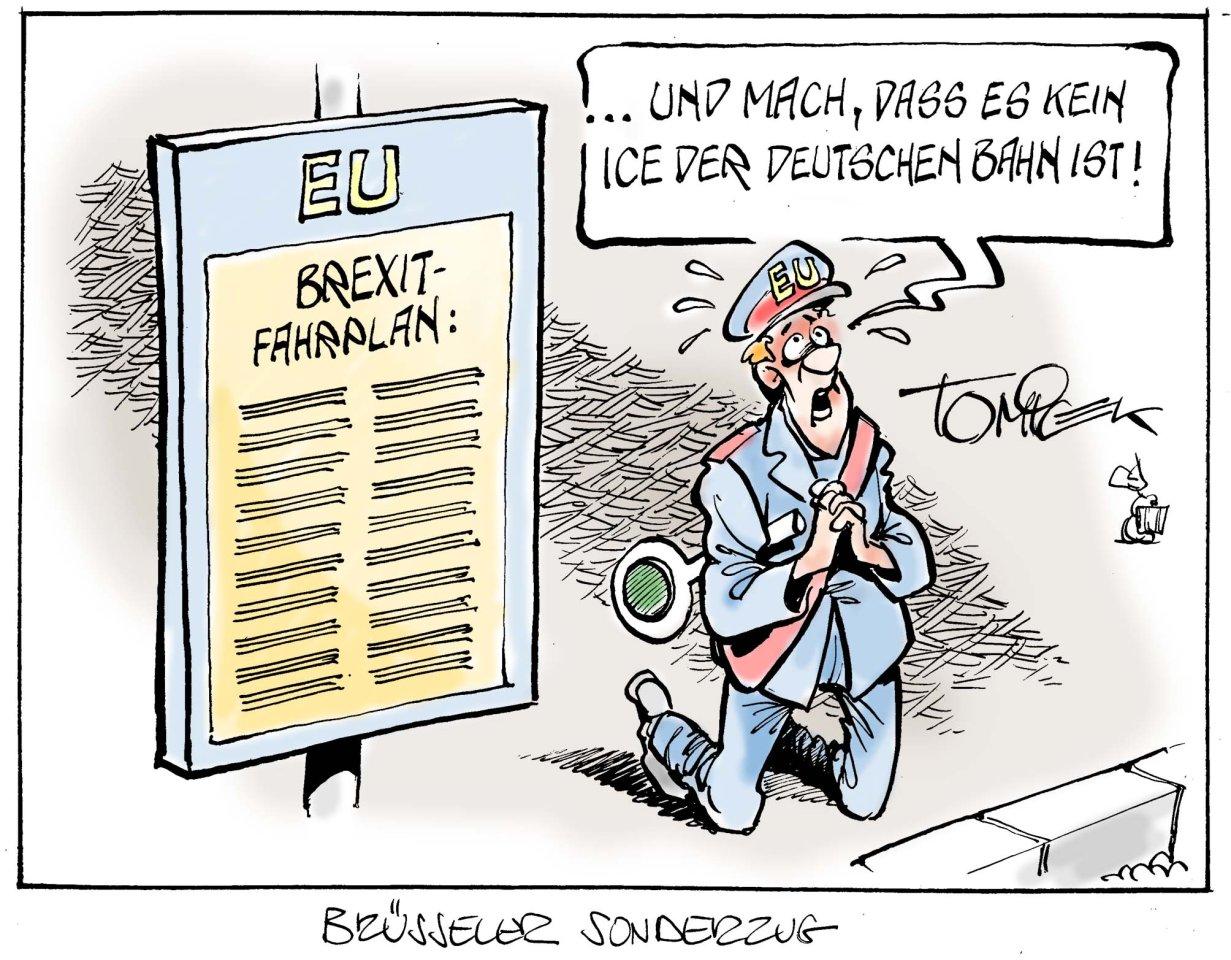 Brüsseler Sonderzug.