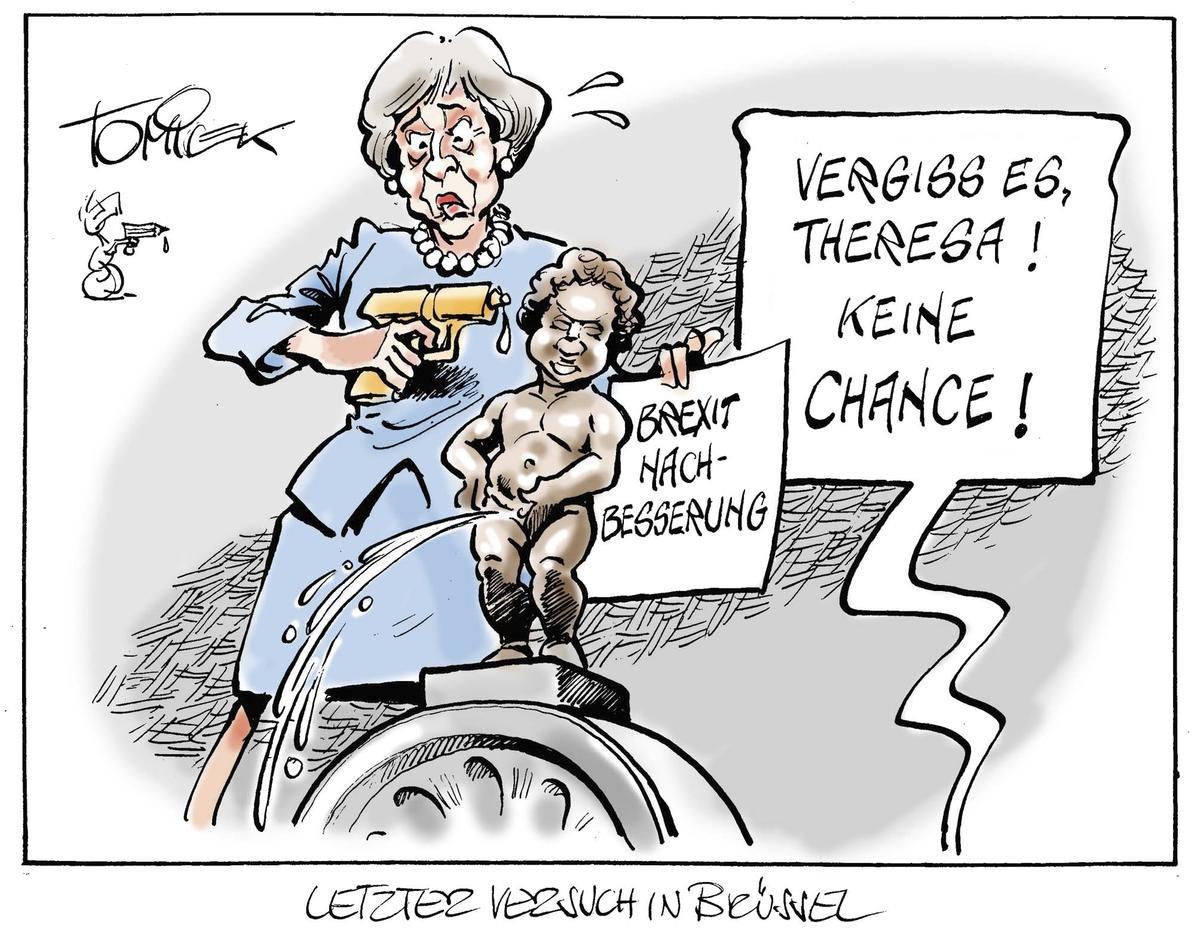 Letzter Versuch in Brüssel